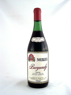 1970 NORMANS Burgundy Red Blend Isle of Wine