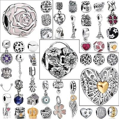 Follower Love Beads Fit European Charms 925 sterling Silver Bracelets Jewelry