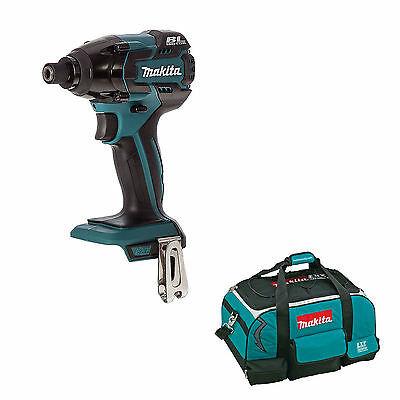 Makita 18V Lxt Dtd129 Dtd129Z Impact Driver And 4 Piece Bag