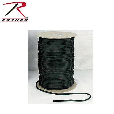 Rothco 304 Nylon Paracord 550lb 1000 Ft Spool - Black