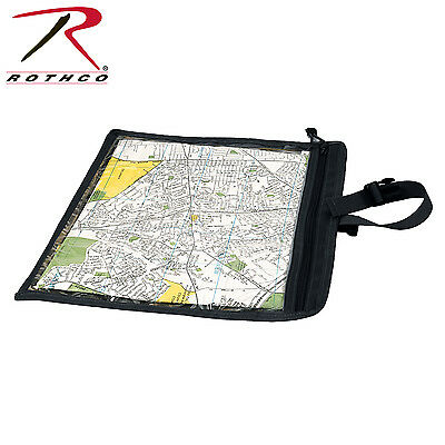 Rothco 9838 Map and Document Case - Black