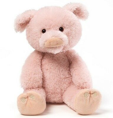 Gund 10'' Plush THIS LITTLE PIGGY Interactive Talking Pig ~NEW~