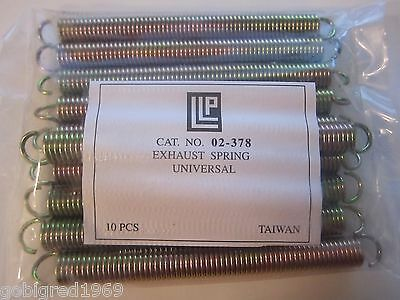 """New Universal Snowmobile Exhaust Spring 10 Pack 5 1/4"""" 02-378  LOTS More Listed"""