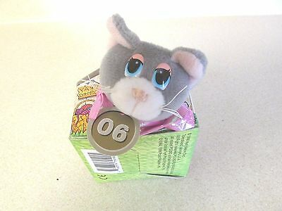 """Pound Purries 1998 Mary Meyer Corp. """"06"""" New Vintage Collectible Gray 4"""" Cat!"""