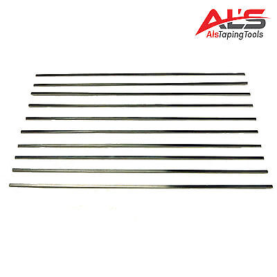 "12"" Stainless Steel Drywall Flat Box Blades - 10 Pack - NEW"