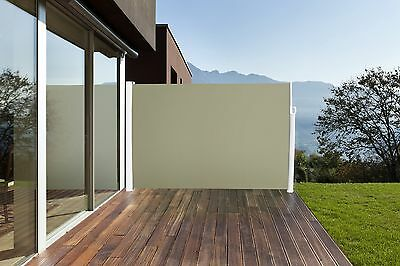 Side Awning Blinds Awning Page rollo Sunshade 160 x 300 cm BEIGE