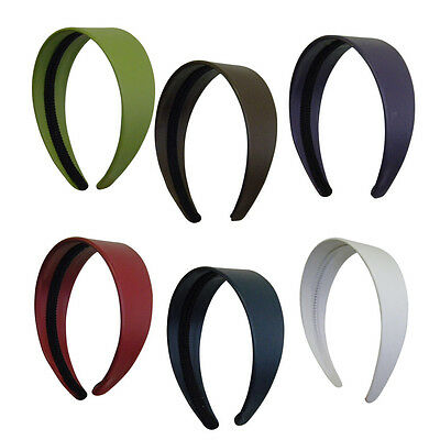 Wide Leather Headbands Colorful Girls 2 Inch Hair Band Accessories