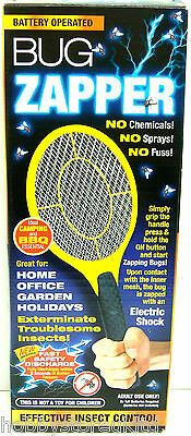 Bug Zapper Bat Electric Fly Insect Swat Bat Bug Mosquito Wasp Zapper Killer New