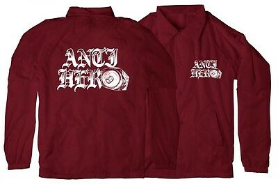 Anti Hero Old E Coach Jacket - Small Medium Large Xl Skate Skateboard Beer Burg
