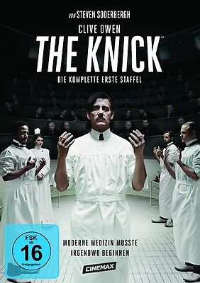 The Knick - Season/Staffel 1 * NEU OVP * 4 DVDs