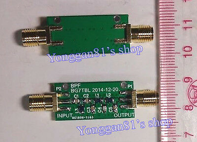 10M 10MHz BPF Bandpass Filter Low insertion loss 3DB Bandwidth 8-11MHz