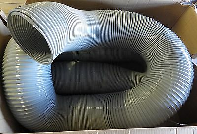 "254mm (10"") I/D x 10m Medium Duty Grey PVC Ducting 3388254"