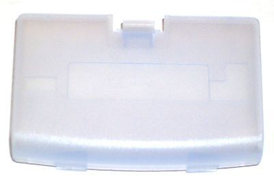 New GLACIER Battery Cover for Game Boy Advance System - GBA Replacement Door