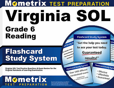 Virginia SOL Grade 6 Reading Flashcard Study System