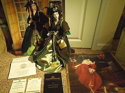 Limited 1989 Franklin Heirloom Doll of Scarlett O'Hara Gone with the Wind w/ Box