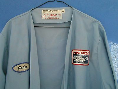 FORD Motor Engineering Pilot Plant Technicians LAB COAT New Test Model Blue Oval