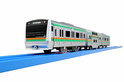 Takara Tomy Plarail Motorised Train S-31-2 New Package E233 Shonan Color  811763