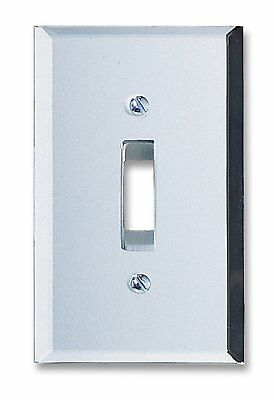 Light Switch Plate Cover Amerelle Clear Mirror Finish Toggle Rocker Outlet