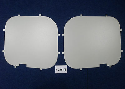 Van Guard Tailored Fit Rear Window Security Blank for Renault Trafic (01-14)