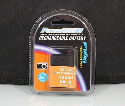 184403 Rechargeable Nb-3L Replacement Battery For Canon New