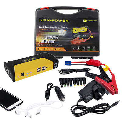 68800mAh Car Jump Starter Pack Portable Booster Charger Battery Power Bank 12V