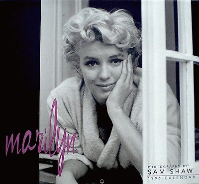Marilyn Monroe Calendar 1996 Sam Shaw Publicity Photo Pinup The Seven Year Itch