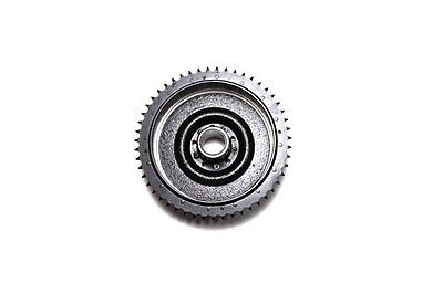 Black rear cast iron brake drum incl. riveted sprocket replaces OEM No: 41400-67