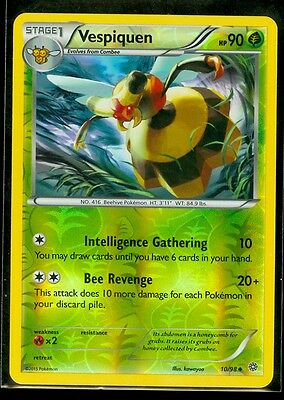 Rare Ancient Origins Pokemon Near Mint 11/98 4x Vespiquen