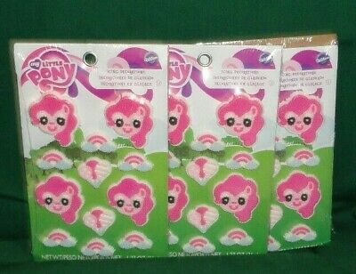 My Little Pony Icing Decorations,Cupcake Toppers,Edible Sugar,Wilton,12 ct.Pinks