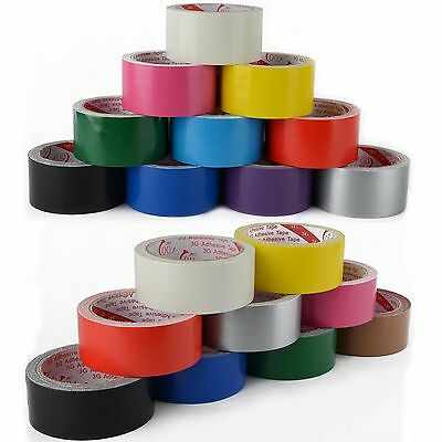 Waterproof Multi-color Highly adhesive Heavy Duty Gaffer Cloth Duct Tape Hot