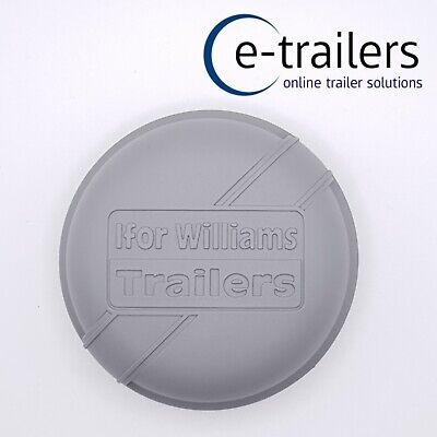 76MM GENUINE IFOR WILLIAMS GREY GREASE DUST CAP ALL BRAKED MODELS from 1996