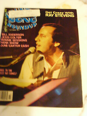 Ray Stevens  Covers Country Song Roundup Magazine October 1977 Jessi Colter