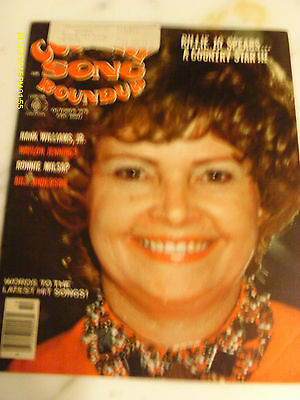 Billie Jo Spears Covers Country Song Roundup Magazine October 1976 Ronnie Milsap