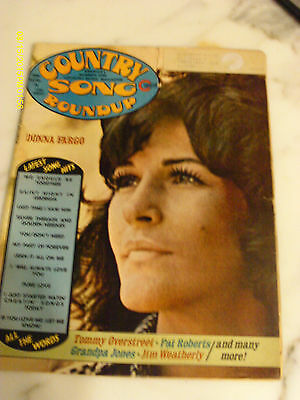 Donna Fargo Covers Country Song Roundup Magazine August 1974 Grandpa Jones