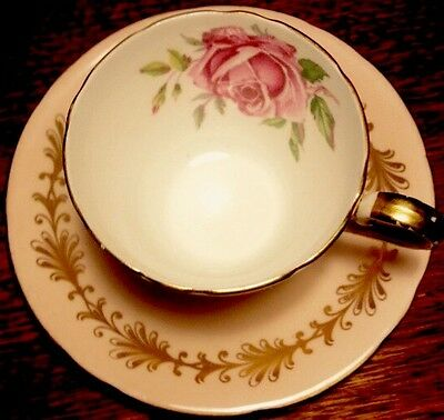 Vintage Aynsley Coffee Cup & Saucer In Excellent Condition