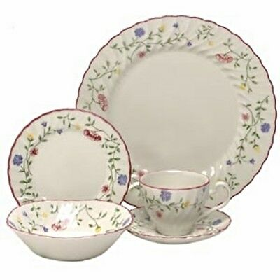 Summer Chintz 5 Piece Place Setting Johnson Brothers New