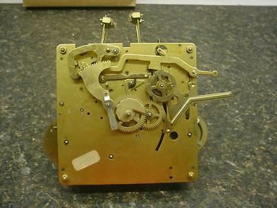 German Howard Miller Clock Co. Brass Westminster Chime Movement UW32639D F153