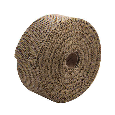 Exhaust Manifold Downpipe Heat Wrap 10m & 10 Ties rap 30CM Improve Horsepower