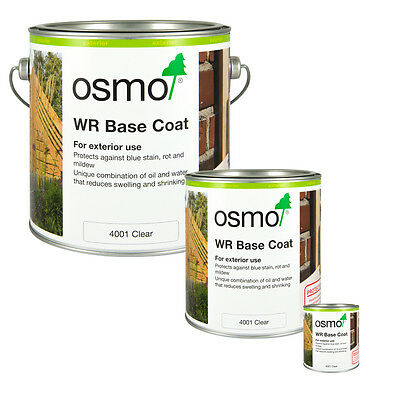 Osmo 4001 WR Base Coat in 125ml, 750ml & 2.5 Litre Tins
