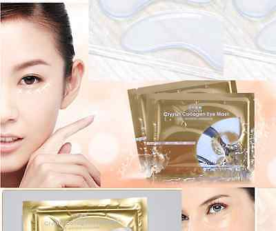1 pairs  Collagen Crystal Eye Mask Deep Moisture Anti wrinkle bags,patche