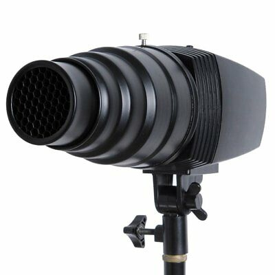 Godox Snoot Honeycomb Grid Light Beam Tube for Universal Studio Strobe Flash