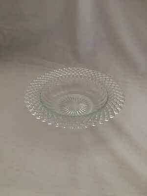 Antique Miss America Depression Small Glass Candy Dish