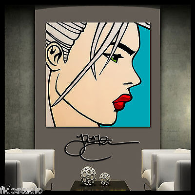 Original Abstract painting Modern Home Decor HUGE Canvas Wall Art by Fidostudio
