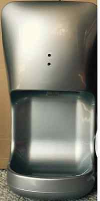 Commercial Grade Bathroom Wall Mounted Automatic Jet Hand Dryer - Silver