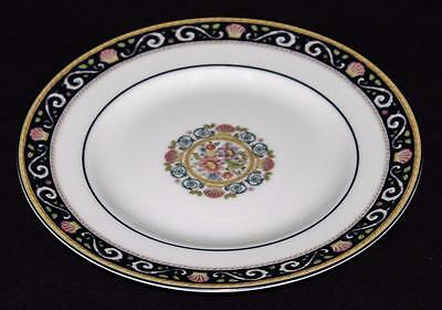 "Wedgwood Bone China, England, RUNNYMEDE, Dark Blue - 8"" Salad Plate"