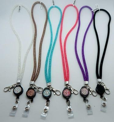 Stardust Crystal & Mesh Extendable Lanyards New on Market!