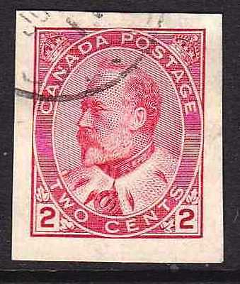 Canada #90A Used Imperf Type Ii , Cv$50.00 He33