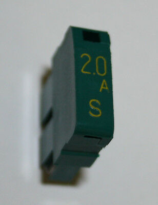 Daito SMP20 (2.0A) Amp Green Alarm Fuse Used *Lot of 25* - Used