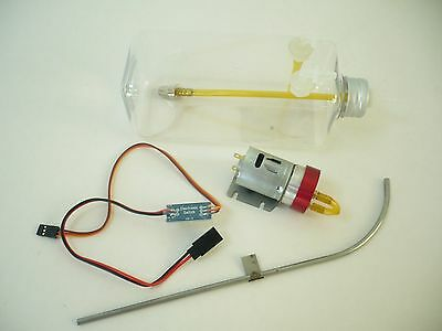 Combo for Jets CNC Smoke Pump with Electric Switch for Turbine Jet Airplane