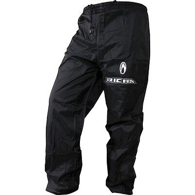 Richa Rain Warrior Waterproof Motorcycle Over Trousers - Black